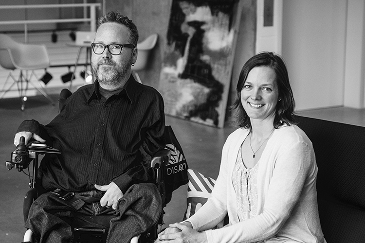 Christopher Smit and Jill Vyn, Co-Founders and Directors of DisArt