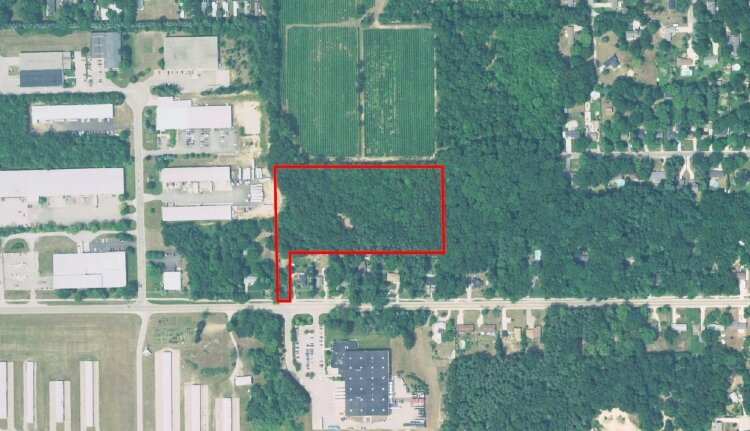 This parcel near the Grand Haven Memorial Airpark could be developed into workforce housing.