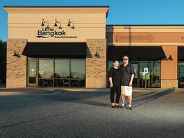 Teng and Sabrina Kue, owners of Little Bangkok Thai Restaurant