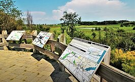 The 612-acre Upper Macatawa Natural Area is located in Zeeland Township.