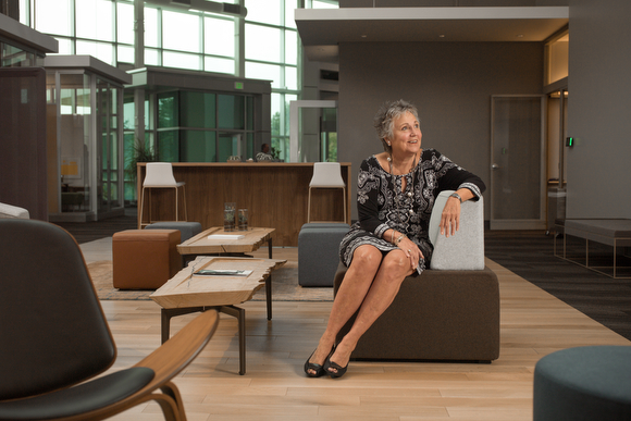 Deb Bailey, the Director of Global Corporate Relations at Steelcase Inc.