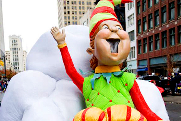Art Van Santa Parade: Ho Ho Ho. Guess who is in Grand Rapids this weekend?