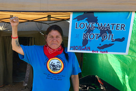 Water Protectors' Benefit: Join The Meanwhile & support the Michigan Host Tent at Standing Rock