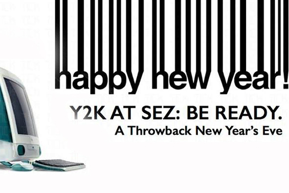 Throwback New Year's Eve: Party like it is Y2K!