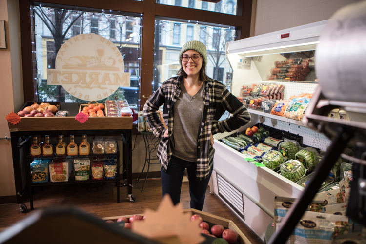 Christina Meuser, owner of Grand Central Market