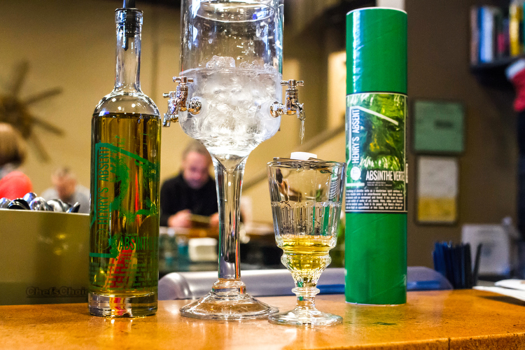"""The Absinthe Experience"" at Bier Distillery"