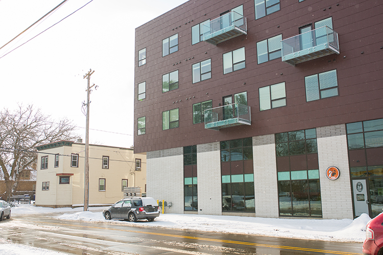 New buildings are changing some of Grand Rapids' old neighborhoods.