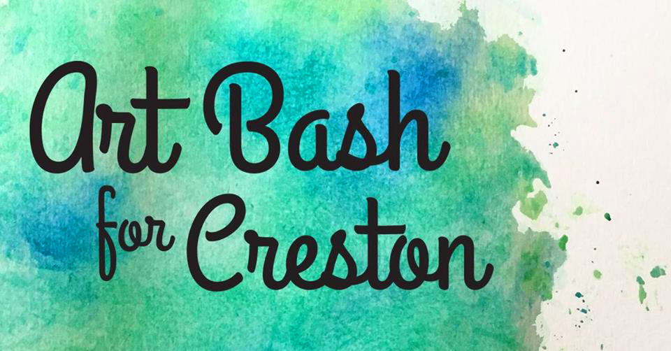 Art Bash for Creston:  Rebirth of the familiar yet new