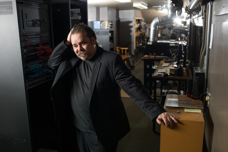 Local filmmaker Anthony Griffin is helping build the Mi. film scene.