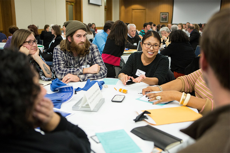 Fifth Annual Padnos/Sarosic Civil Discourse Symposium: Gathering promotes healthy dialogue