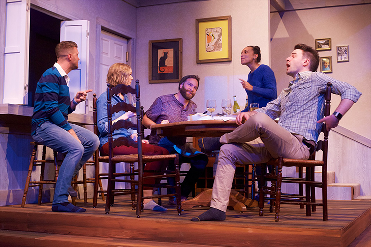 At the Table: Timely in-your-face theatre, bring your friends