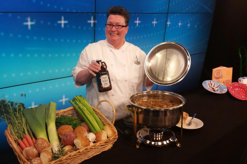 Colleen Vorel, the Executive Chef for Catholic Charities West Michigan.