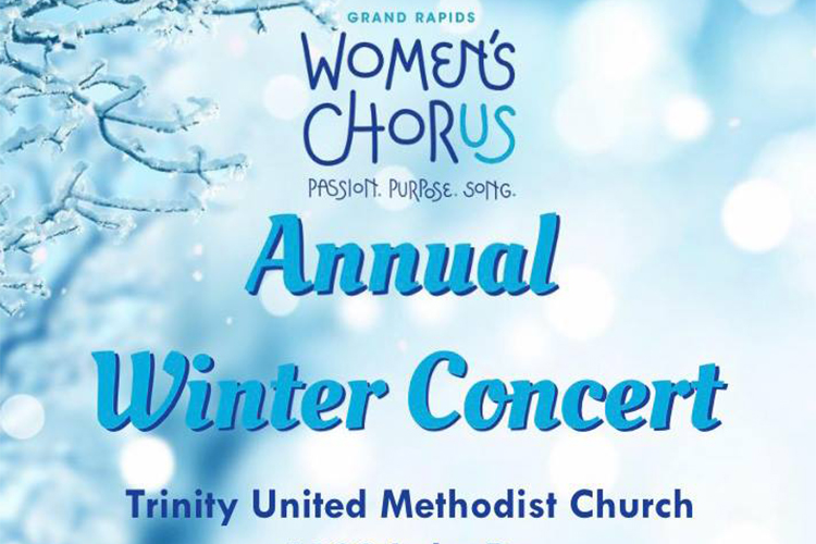 Grand Rapids Women's Chorus Winter Concert: The human voice unified in song is a beautiful thing