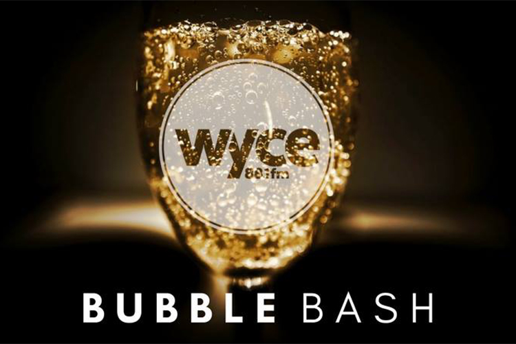 WYCE Bubble Bash: Tiny bubbles and community supported radio at H.O.M.E.