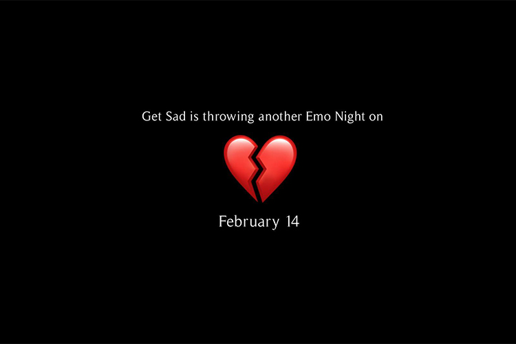 Get Sad Volume 2 Emo Night: It's singles who mingle night on the Westside