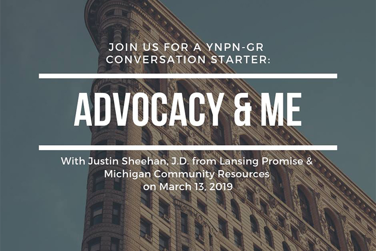 Advocacy & Me: YNPN's Conversation Starter presents something worth talking about