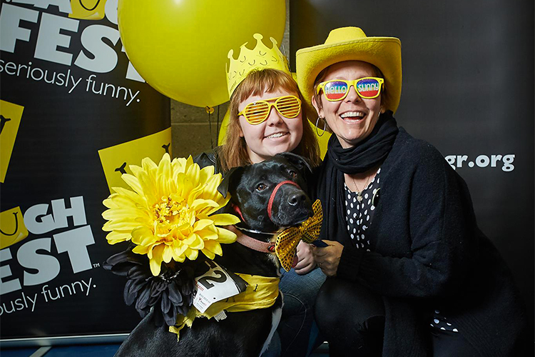 People & Pets: LaughFest's furriest event bounces back into town