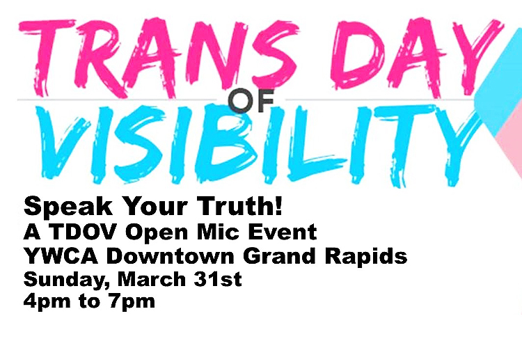 Speak Your Truth: Transgender Day of Visibility hosts an open mic