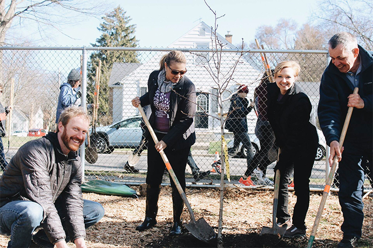4th Annual Mayor's Greening Initiative: Planting a future forest in a morning is pure Bliss