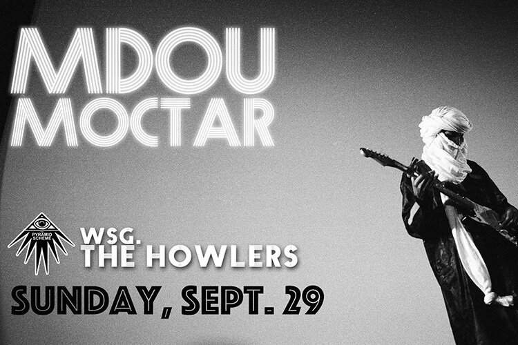Mdou Moctar: Don't miss the artist who is showing just how far Psych-Rock can reach