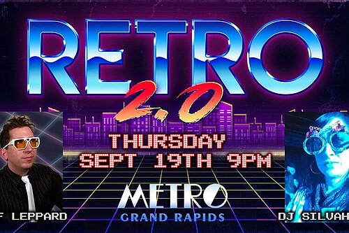 Retro 2.0 ft. Jef Leppard: New southside club presents a dance series spanning 3 decades of music