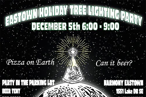 Eastown Holiday Tree Lighting Party: A tiny creative act builds community within a city neighborhood