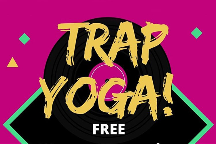 Trap Yoga: A future-forward way of doing yoga lands at the Baxter Community Center