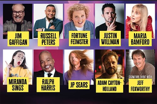 LaughFest 2020: Our Seriously Funny comedy festival celebrates 10 years with impressive lineup