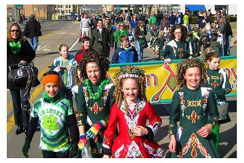 St. Patrick's Day Parade: Irish cultural pride on display Saturday, and, yes, wear green.