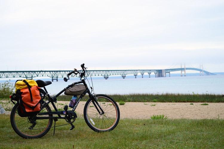 Biking lake michigan a long distance adventure biking in michigan can take you through both peninsulas sciox Image collections