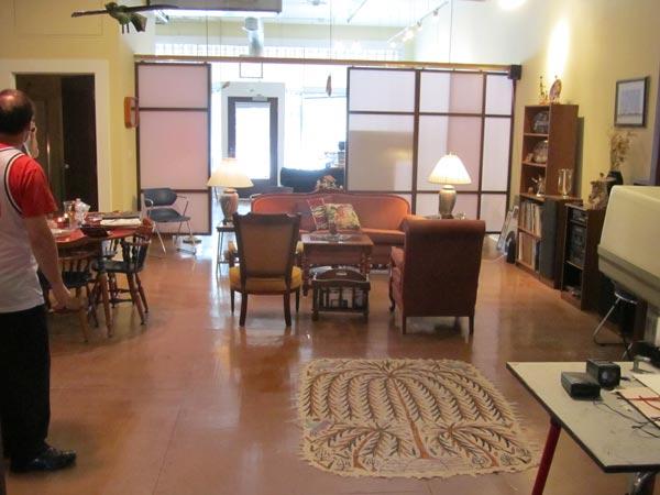 Studio Apartment Grand Rapids Mi world renowned artist opens studio in grand rapids' live/work