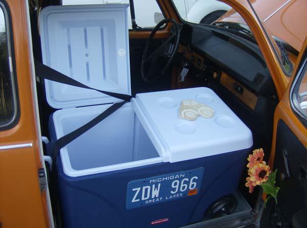 Creativity + Entrepreneurship + 1974 VW Beetle = grill