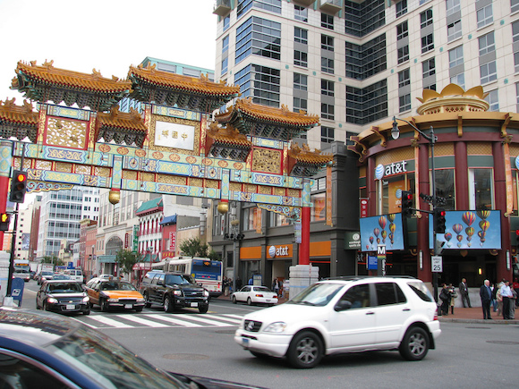 Chinatown is one of DC's most congested neighborhoods.