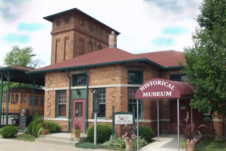 The Coopersville Historical Museum is housed in a former depot.