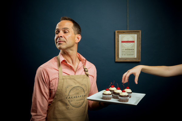 Jason Kakabaker wants to tempt you with sweets.