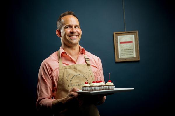 Jason Kakabaker will be opening his bakery in East Town in mid June.