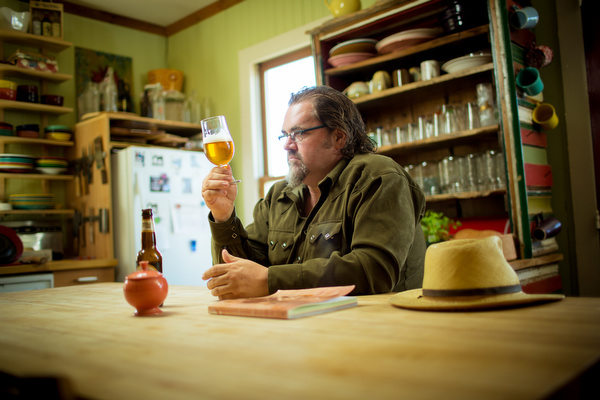 Fred Bueltmann wants to change the beer you drink and the food you eat.