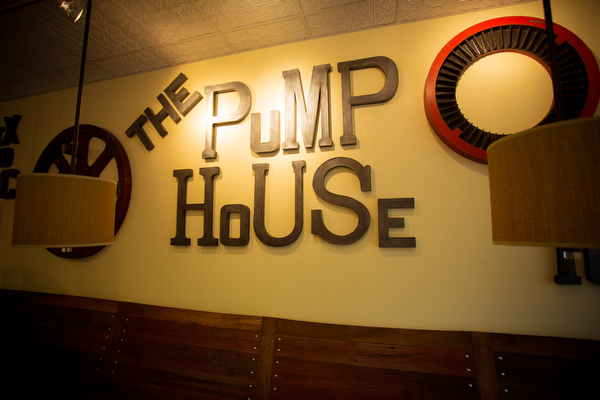 The interior of The Pump House, designed by Ashley Cole.