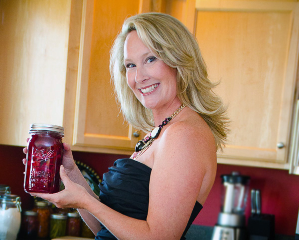 Diane Devereaux is the canning Diva.