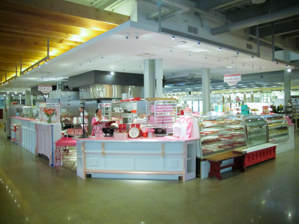 Shops inside the newly opened Downtown Market.