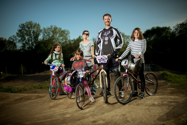 The Salisbury family is all BMX, all the time.