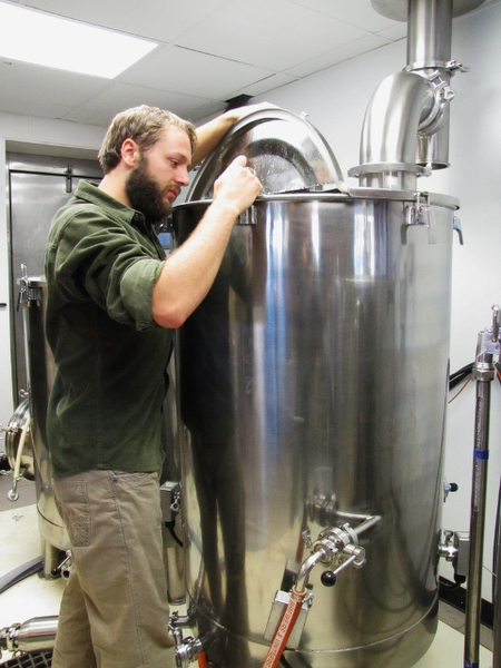 Brett Langscheid of Gravel Bottom Brewery
