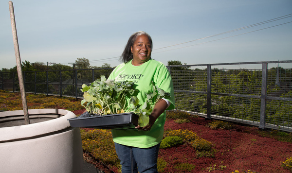 Lisa Oliver-King, executive director of Our Kitchen Table.