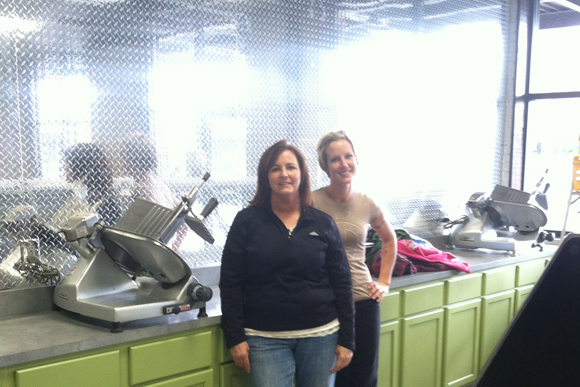 Margie Zichterman and Lacey Dryer of Grand Butchers