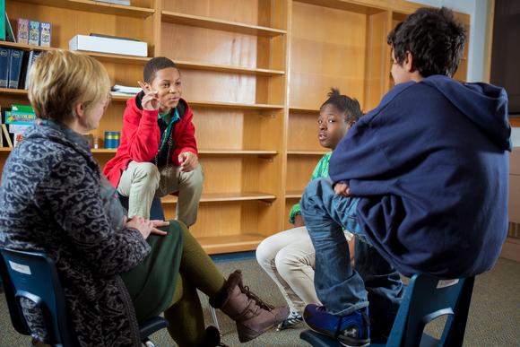 Restorative Circles Program Builds Empathy Conflict