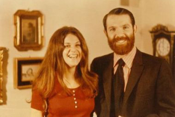 Gilda Radner and her brother Michael.