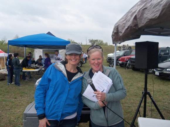 Melissa Werkman, left, and Shelley Irwin, right.