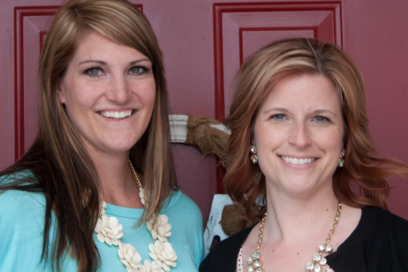 Leslie Plank, left, and Stacy Gnewkowski, right.