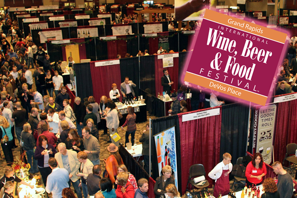 Grand Rapids Wine, Beer and Food Festival: Try Them All!