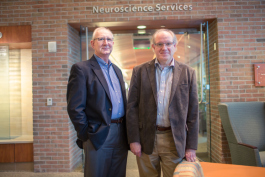 Ken Hekman, left, and Dr. John Mulder, right.